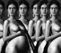 Las mejores fotos de Frida Kahlo #frida #fridakahlo #mexico #arte #pintura… More Pins Like This At FOSTERGINGER @ Pinterest