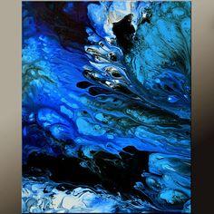 Arte abstracto impresiones 11 x 14 impresión del arte por wostudios