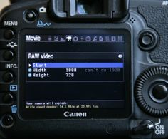 How To Shoot RAW Video On Your Canon