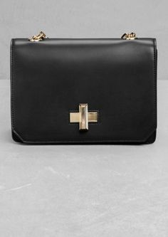 & Other Stories | Twist-Lock Leather Bag