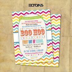 BOO HOO Breakfast Invitation / Digital / Printable by EltonsLogo, $15.00