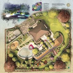 Projekt ogrodu przy rezydencji w BobolinieTreezone