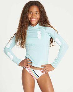 Kids Outfits Girls, Cute Girl Outfits, Girls Swim Shirts, Black Girl Halloween Costume, Billabong Girls, Beautiful Little Girls, Beautiful Children, Girls Swimming, Young Models