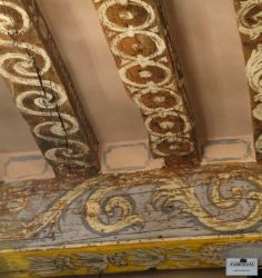 Mine is the business of creating patina. Let me rephrase that. Mine is the business of RECREATING patina. You see, for me, there is . Painted Ceiling Beams, Ceiling Painting, Ceiling Murals, Wooden Ceilings, Painted Floors, House Painting, Painted Furniture, Faux Painting, Funky Furniture