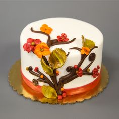 Fall is around the corner! Join us for our Fall Flower cake decorating class in September! http://classes.carlosbakery.com/