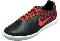 39da7c1ec4c Nike MagistaX Finale Indoor Shoes - Black   White - SoccerPro.com