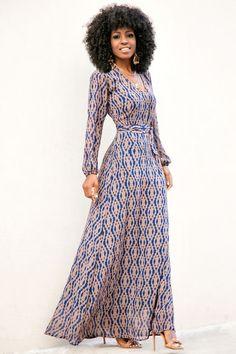 FashionDRA   Fashion Inspiration : The Stunning  Maxi Dress