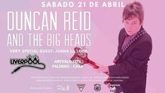 Duncan Reid (ex The Boys y Ramones) en Argentina