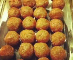 Mozzarella Meatballs. A great on the go or party snack