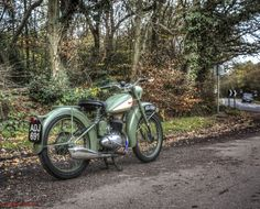 1949 BSA Bantam  3 - High Beech Epping Forest