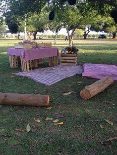 Ideias com pallets e caixotes #euqfiz