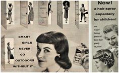 girl drinking advertising vintage - Google Search