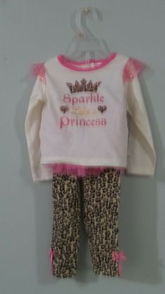a54b17471c6 Girls pants and top set with tutu size 24 month.  fashion  clothing