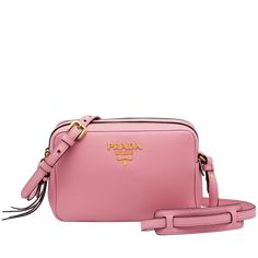 11b58962b77e PETAL PINK Prada Bag, Calf Leather, Leather Shoulder Bag, Calves, Kate Spade