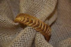 Eco Friendly Brazilian Golden Grass Braided Bracelet - Capim Dourado on Etsy, $28.00