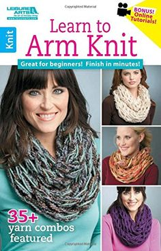 Have you tied Arm Knitting? You'll love to make this stunning Scarf and it's the perfect beginner project. It's ready in 30 minutes and we have an easy video tutorial for you to follow. Check out the 45 minute Arm Knitted Blanket too.