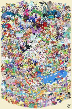 Pokemon Draw Em All (Gen 1 by ccayco on DeviantArt Pokemon Poster, Pokemon Fan Art, Pokemon Legal, 150 Pokemon, Pokemon Comics, Manga Pokémon, Desenhos Cartoon Network, Pokemon Pictures, Cute Disney