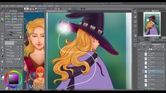 ★ Chapter 15 Cover - Timelapse Digital Painting [Tales of Midgard webcomic] Cover Pages, Comic Books, Fantasy, Manga, Comics, Digital, Videos, Artwork, Painting