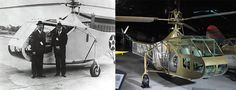 Sikorsky XR-4 Helicopter, 1942 via @National Air and Space Museum