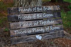 Etsy Ceremony Sign - Wedding Signs - Choose a seat not a side sign - Pick a seat not a side sign - Weddin