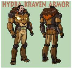 Marvel Dc, Marvel Villains, Marvel Comic Universe, Marvel Heroes, Marvel Characters, Hydra Marvel, The Sinister Six, Kraven The Hunter, Marvel Animation