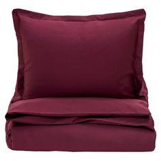 Gant Sateen Bed Linen - Purple Fig