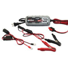 "NOCO Genius Fully Automatic Battery Charger and Maintainer (Grey) (Automotive) newly tagged ""portable"" Automatic Battery Charger, Portable, Quinceanera, Washington, Wire, Canada, Snow, Electronics, Amp"