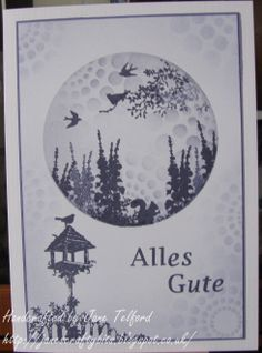 One of the Samples from the German Claritystamp show by Jane Telford