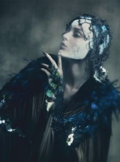 ☽ Dream Within a Dream ☾ Misty Blurred Art and Fashion Photography - Paolo Roversi. Vogue Italia.