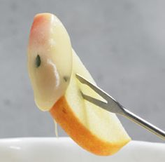 Brie Fondue with Fresh Thyme and Chardonnay  . This just sounds  delicious and different.