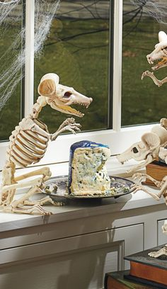 Who's the unexpected guest near your cheese plate? It's our Skeleton Rat, looking for a much-needed meal.
