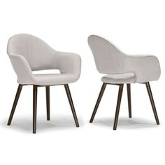 Glamour Home Decor Adel Arm Chair