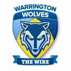 New re-branded Warrington Wolves RFLC logo