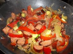 Sausage & Pepper Stir Fry