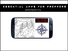 Here's a list of Essential Smartphone Apps for Preppers, to transform your phone into a EDC survival tool and to give you the edge in survival situations. geekprepper.org