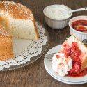 http://www.sweetandsavorybyshinee.com/angel-food-cake-with-strawberry-sauce/