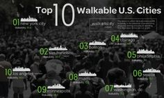 Walkability  Walkability is a measure of how friendly an area is to walking. Walkability has many health, environmental, and economic benefits. Factors influencing walkability include the presence or absence and quality of footpaths, sidewalks or other pedestrian rights-of-way, traffic and road conditions, land use patterns, building accessibility, and safety, among others.