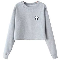Chicnova Fashion Alien Fleece Sweatshirt