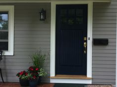 What Color Should I Paint My Front Door shades of gray: architects pick the 10 best exterior gray paints