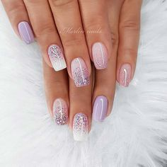 In look for some nail designs and ideas for your nails? Here is our set of must-try coffin acrylic nails for modern women. Nagellack Design, Nagellack Trends, Stylish Nails, Trendy Nails, Pink Nails, Glitter Nails, Ombre Nail Art, Glitter Ombre Nails, 3d Nails