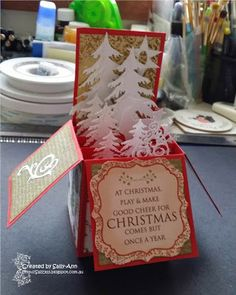 My Crafty Corner: Cards in a box - or are they???