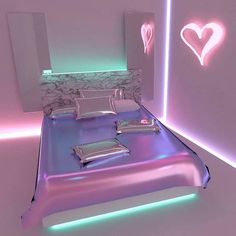 Secrets To Cool Bedrooms for Teen Girls Dream Rooms Cool Bedrooms For Teen Girls, Awesome Bedrooms, Cool Rooms, Girls Bedroom, Neon Bedroom, Bedroom Decor, Dream Rooms, Dream Bedroom, Deco Rose