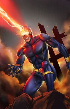 Art of Cyclops! Follow for more content from Comic's Greats!