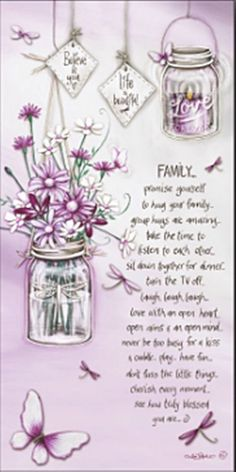 FAMILY canvas w/ affirmation lantern lights up LED Positive cherish home Lighted Canvas, Canvas Lights, Light Up, Lanterns, Glass Vase, Make It Yourself, Lisa, Affirmation, Ebay