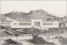 National Archaeological Museum of Athens . the center of the city in the begining of the century. (photo: The Benaki Museum's Archives ). Athens History, Benaki Museum, Journey To The Past, Greece Photography, City People, Athens Greece, Back In The Day, Historical Photos, Old Photos