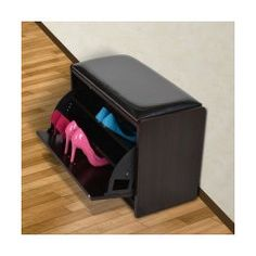 HomCom Storage Entryway Bench & Reviews | Wayfair