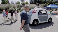 The new prototype of the Google Self-Driving Car is finally unveiled to the public 2