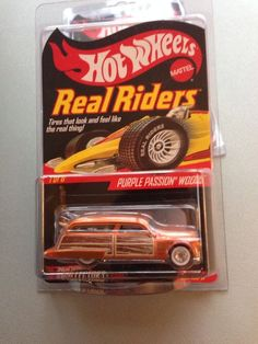 Hot Wheels Collectors' Club RLC Series 8 Real Riders Purple Passion Woodie