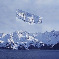 As paisagens refletidas em figuras geométricas nas foto-manipulações de Victoria Siemer