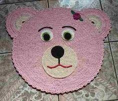 Resultado de imagem para como fazer tapete de croche infantil